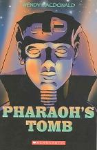 Pharaoh's Tomb book cover by Wendy Macdonald